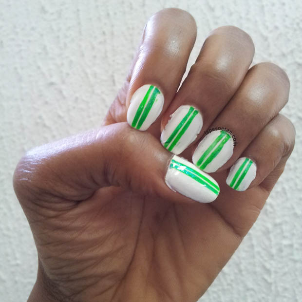 nail art lape soetan independence nails