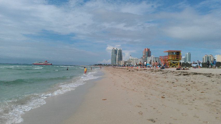 south beach miami atlantic ocean