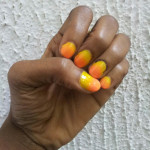 Nail Art:  Sunrise