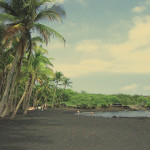 Picture of the month:  Punaluu, Hawaii