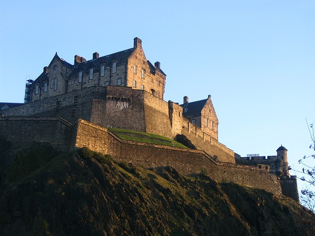 edinburgh castle picture of the month