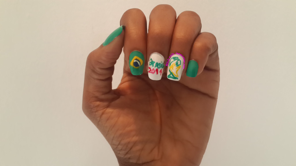 world cup nails by lape soetan