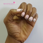 Nail art:  Dainty digits