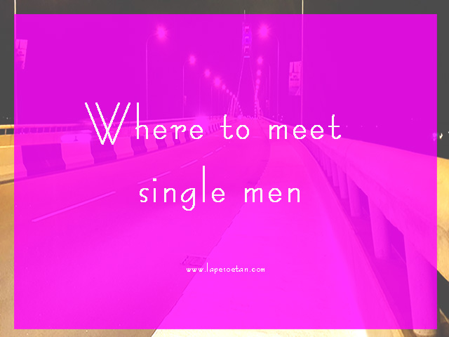 how to meet single men
