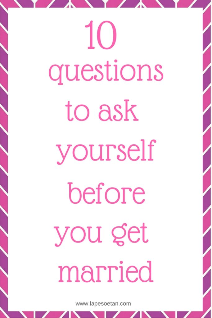 Questions to ask yourself before dating a guy