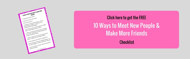 FREE 10 ways to meet new people CHECKLIST
