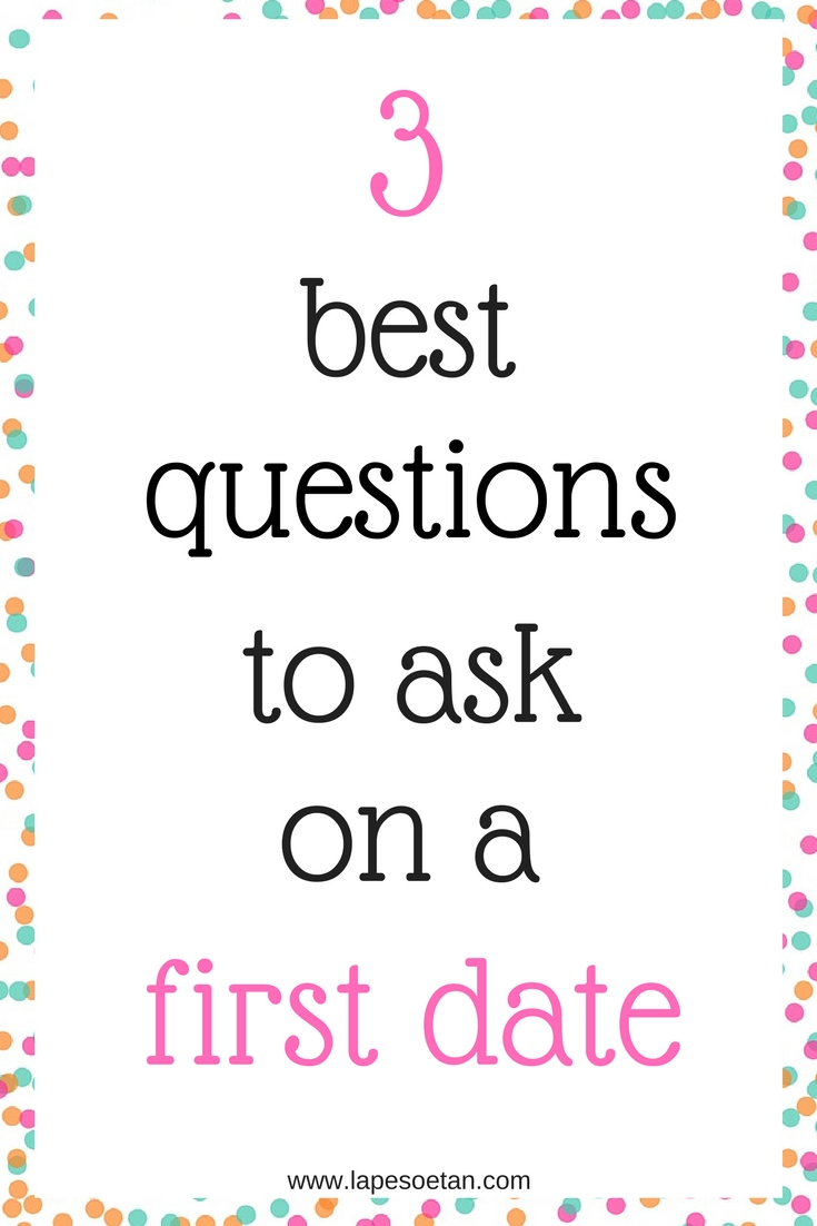 Best questions to ask on first date