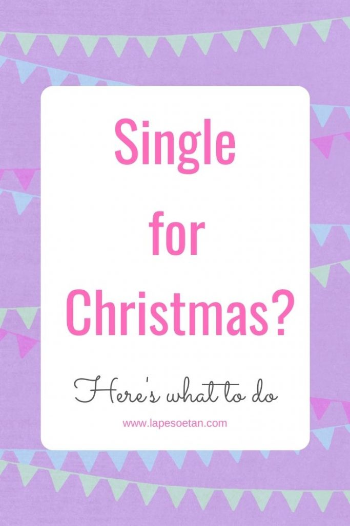 single for christmas PINTEREST www.lapesoetan.com